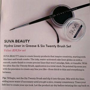 NWT Suva Beauty hydra liner grease & brush set
